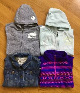 Lot of 4 Brand Name Girls Sweaters Size 10/12 ExcellentCondition