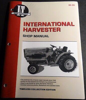 International Harvester Tractor Shop Service Manual 234 234 Hydro 254 Ih-55