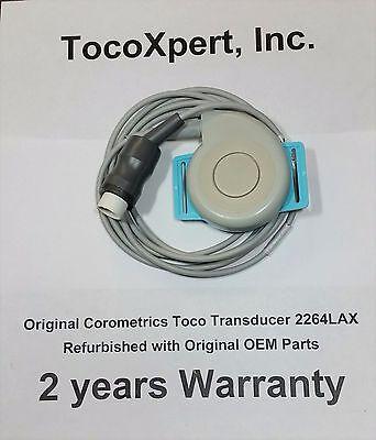 Ge Corometrics Nautilus Toco Fetal Transducer 2264lax - 2 Year Warranty Qrqube