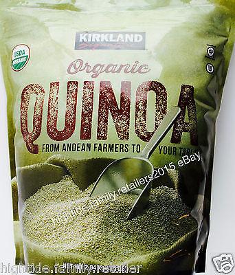 Kirkland Quinoa 100% USDA Organic Gluten Free Andean Farms, 2.04 kg (4.5 LB)