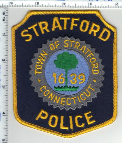 Stratford Police (Connecticut) 3rd Issue Shoulder Patch