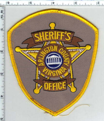 Arlington County Sheriff (Virginia) 4th Issue Uniform Take-Off Shoulder Patch