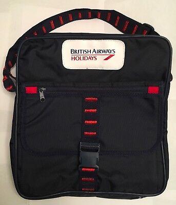 BRITISH AIRWAYS HOLIDAY AIRLINES SHOULDER TRAVEL BAG!!
