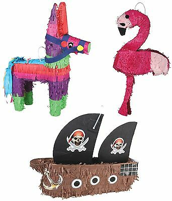 PINATA Esel Flamingo PiratenSchiff Stock Keule Geburtstag Kindergeburtstag Party - Flamingo Pinata
