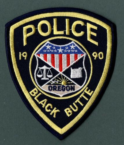Black Butte Oregon Police Patch