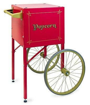 Red Cart For Popcorn Machine 4 Oz Vintage Retro Style