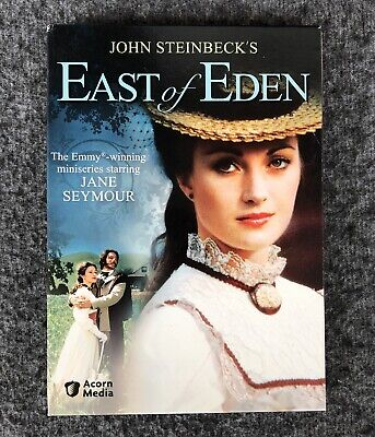 Steinbeck EAST OF EDEN Jane Seymour 3 VOLUME Set DVD Acorn Media EMMY WINNER
