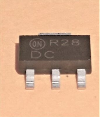 20 Pieces Of On Semi Bf720t1 Npn Transistor 300v 100ma Sot223 Smd Cut Tape