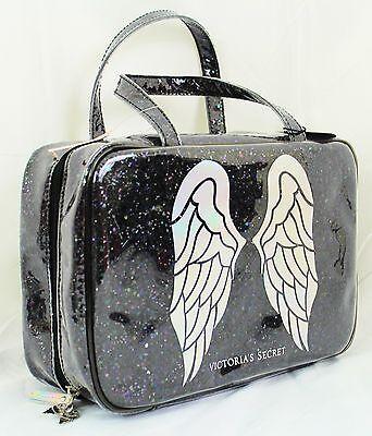Victoria's Secret~Fashion Show 2014 organizer~glitter angel wing travel bag case