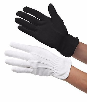 Heat Resistant Gloves, White, New, Large, Hair Styling or Catering / Serving.