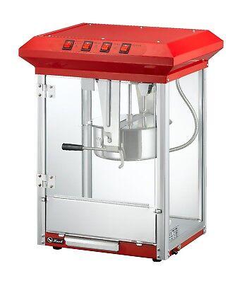 Commercial Retro 8oz Top Popcorn Popper Machine