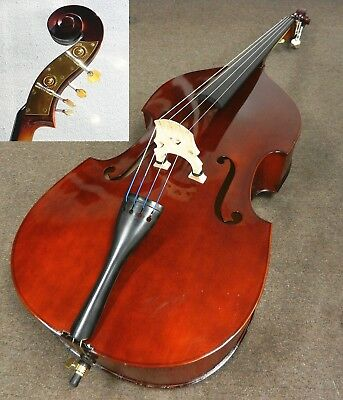 Upright Double Bass Neck Fingerboard Peg Tailpiece Bridge Endpin String Bass Kit Skilful Manufacture Musical Instruments & Gear