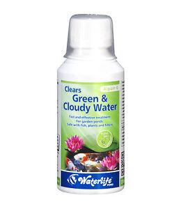 Waterlife-Algizin-G-Estanque-Elimina-Verde-amp-Turbia-Agua-De-500ml-Botella