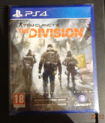 Tom clancy's the division Ps4 VF intégrale - Neuf fr