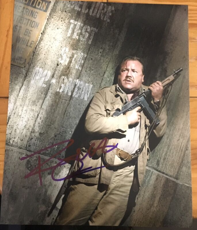 RAY WINSTONE SIGNED AUTOGRAPH CLASSIC POSE INDY ACTION 8x10 PHOTO WITH COA A