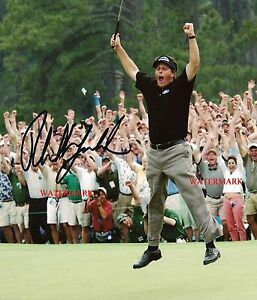 PHIL MICKELSON AUTOGRAPHED 2004 MASTERS GOLF CHAMPION 8x10 REPRINT PHOTO RP