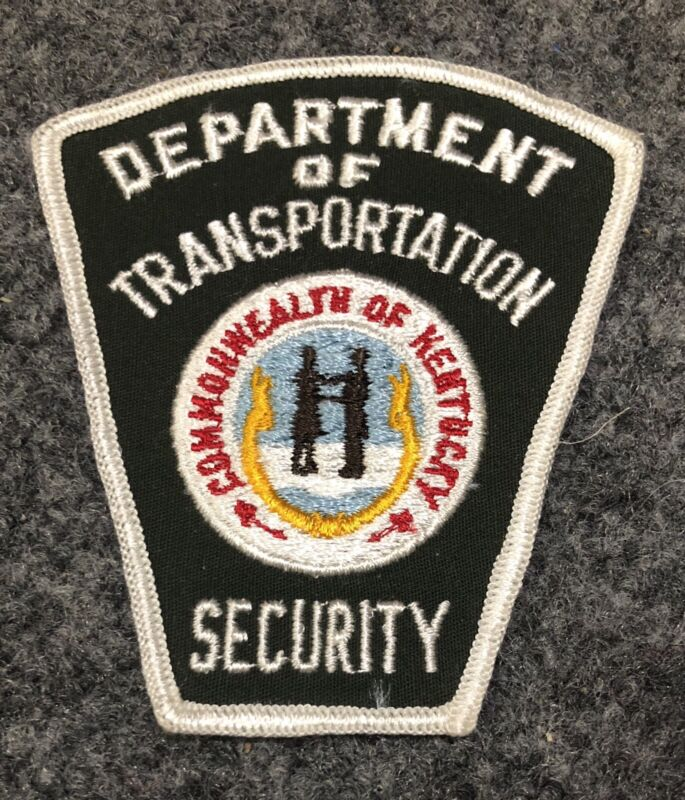 Kentucky Department of Transportation Vehicle Enforcement police security patch