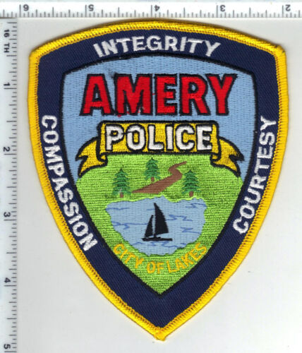 Amery Police (Wisconsin) 2nd Issue Shoulder Patch