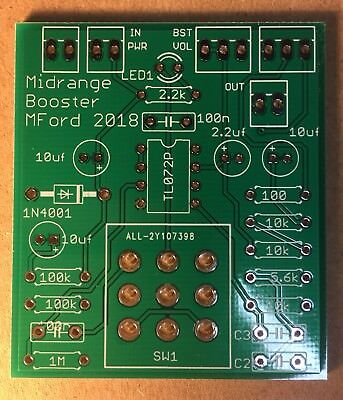 Distortion & Overdrive - Booster Overdrive Pedal on xotic bb preamp schematic, xotic wah xw-1, xotic ep booster schematic, xotic sl drive schematic, red rooster booster schematic,