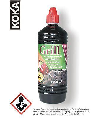 6 Liter Grillanzünder Anzündhilfe Flüssiganzünder für Holzkohle und Briketts