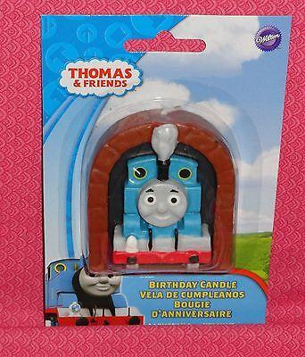 Thomas the Tank Engine,Blue,Wilton,Birthday Candle,2811-4242,Train,Locomotive](Thomas The Tank Engine Birthday)