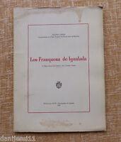 Los Franquesa De Igualada/ Antonio Carner/ 1969/ Ayuntamiento/ Bcn/ Igualada -  - ebay.es