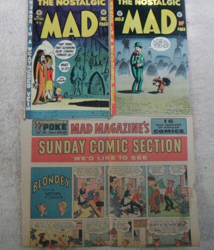 the nostalgic mad-mad magazine lot-mad magazine