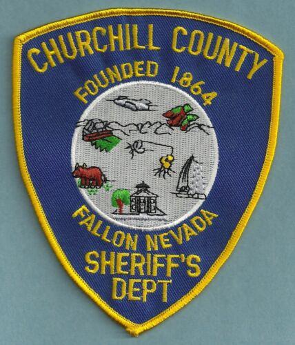 CHURCHILL COUNTY SHERIFF NEVADA SHOULDER PATCH