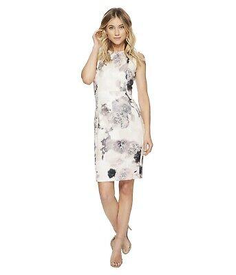 Calvin Klein NWT BLUSH Multi Modern Scuba fabric New Dress Women's 2,4,6,8,10,12 ()