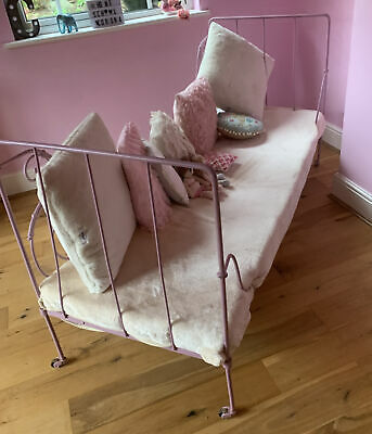 Antique French Day Bed - Pink