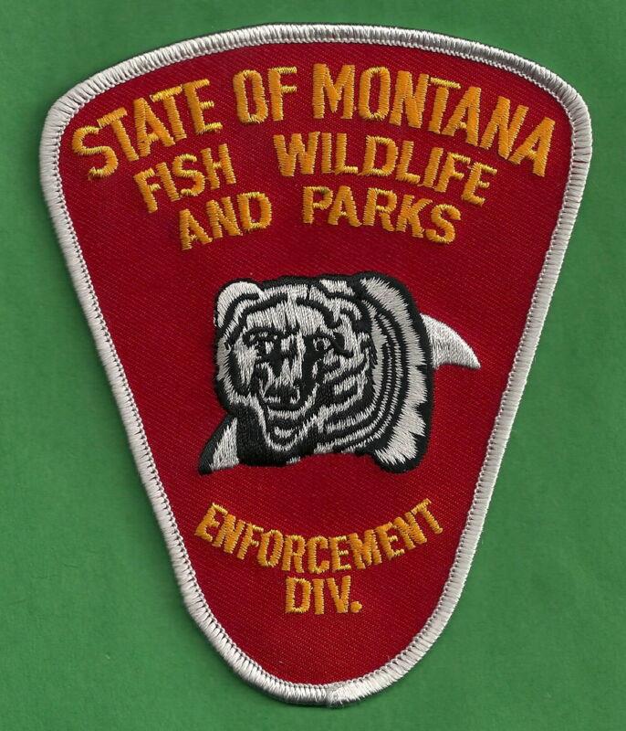 MONTANA FISH & WILDLIFE ENFORCEMENT POLICE PATCH
