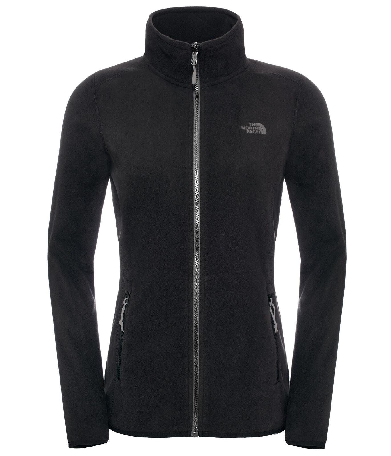 online store 9c224 0d6fd The North Face Women 100 Glacier Full Zip Jacke Damen ...