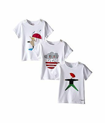 Burberry Kids Set of 3 Graphic Tees infant 18 months