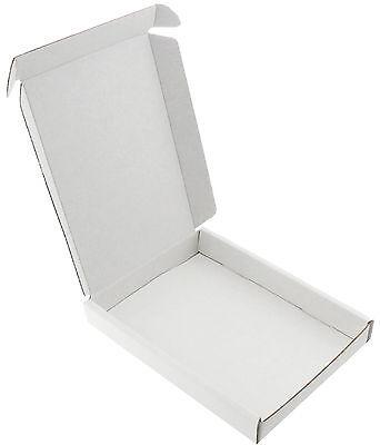 50 WHITE C6 A6 BOX SHIPPING POSTAL PIP LARGE LETTER ☆ SIZE: 16 cm x 12 cm x 2 cm