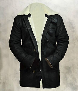 BANE-Dark-Knight-Rises-Genuine-Cowhide-Leather-Matt-Finish-Black-Jacket-Coat