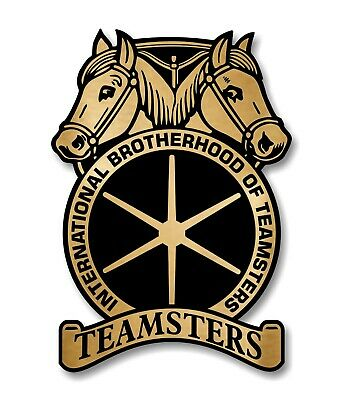 Home Decoration - Teamsters Decal / Sticker Die cut