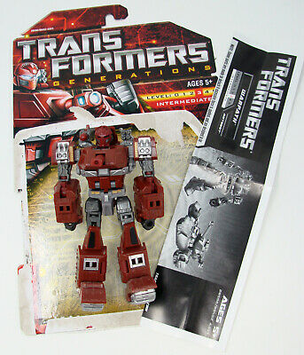 2010 Transformers Universe Generations Warpath Complete G1