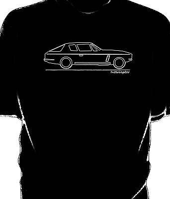 Original sketch Jensen Interceptor t-shirt