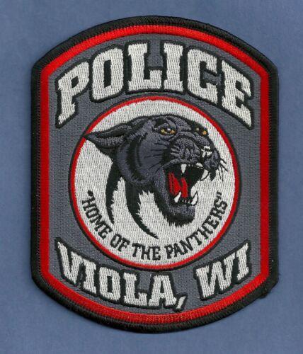 VIOLA WISCONSIN POLICE SHOULDER PATCH