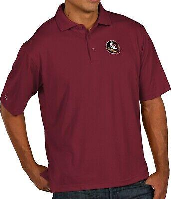 Florida State Seminoles Antigua Classic Pique Garnet Polo Golf Shirt X-Large New