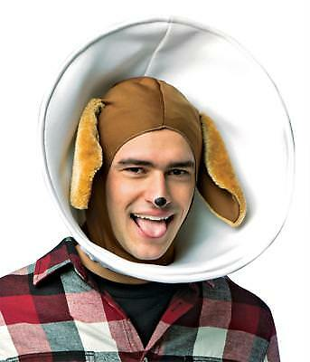 ADULT PUPPY DOG IN CONE ANIMAL COSTUME HEADPIECE ACCESSORY GC6305