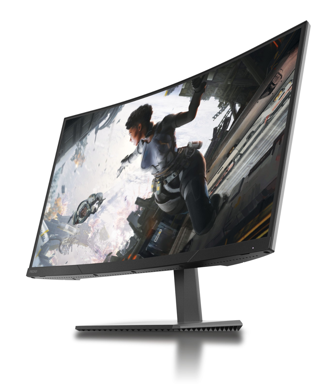 pxc243 24 inch 144hz curved 1080p fhd