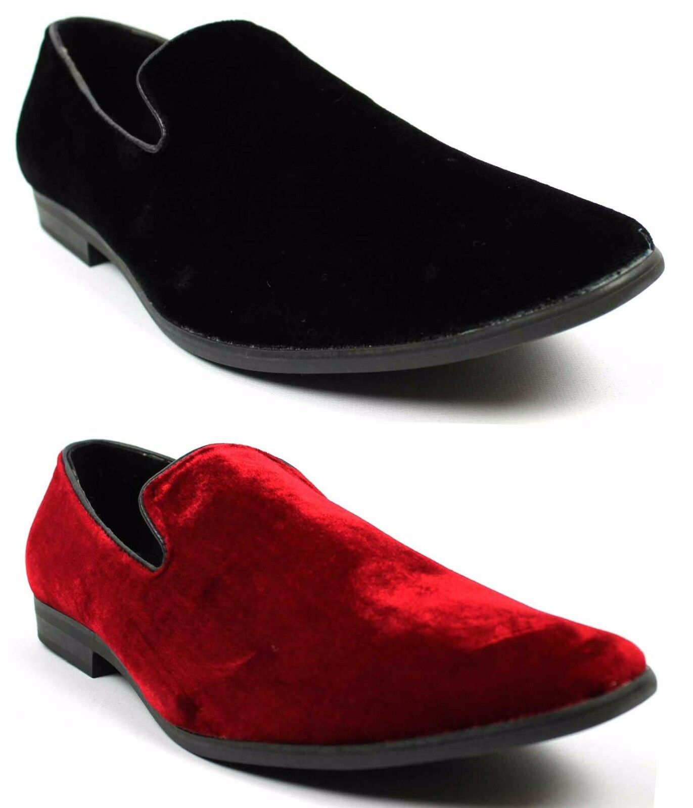 NEW Mens Alberto Fellini Dress Shoes Slip On Loafers Velvet