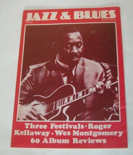 1973 JAZZ & BLUES UK MAGAZINE ROGER KELLAWAY WES MONTGOMERY FESTIVALS