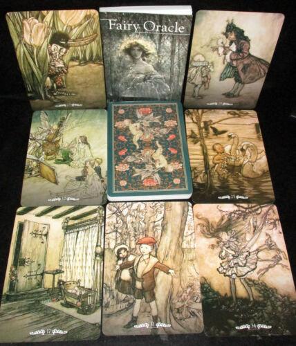 SEALED NEW ~ FAIRY ORACLE CARDS & BOOK SET VICTORIAN RENAISSANCE ART RACKHAM