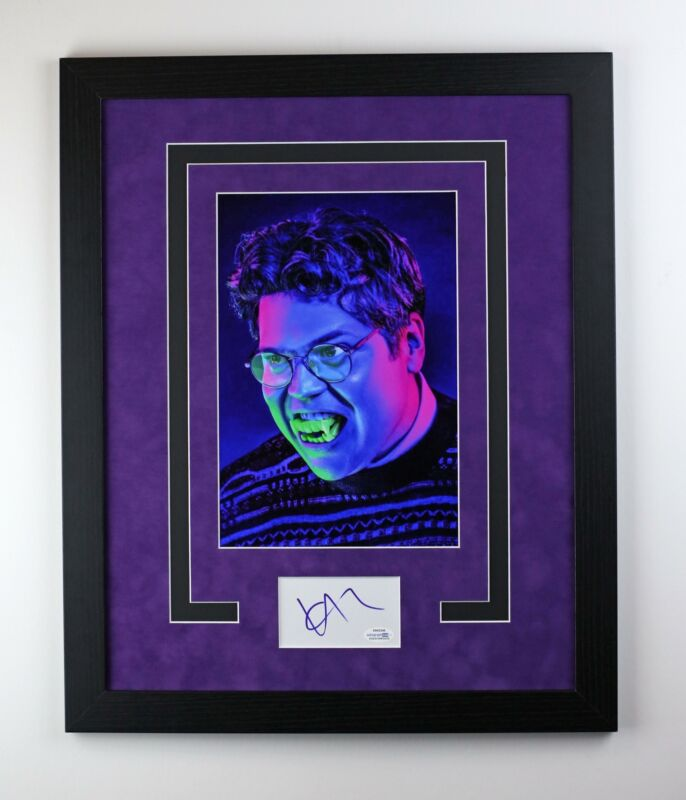 What We Do In The Shadows Guillermo Autographed Framed Photo Harvey Guillen ACOA