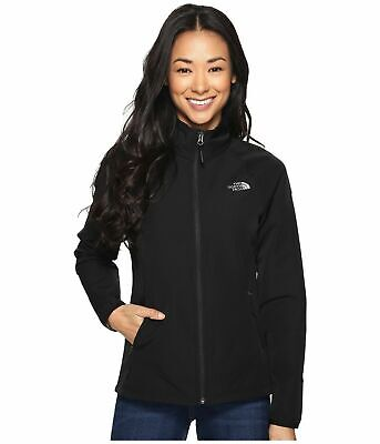 Womens The North Face Jacket Nimble Stretch Zip Lightweight Coat Black L DEFECT