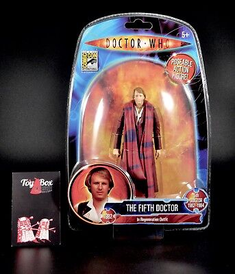 Doctor Dr Who; The Fifth Doctor in Regeneration Outfit ~ Sealed Excellent Cond. - Dr Who Outfits
