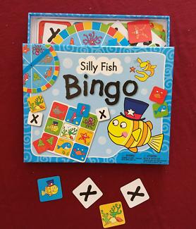 "SILLY FISH ""BINGO"" 4-5 Players"