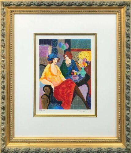 "Itzchak Tarkay ""untitled"" 1996 | Signed Print | Framed | Make An Offer | Gallart"